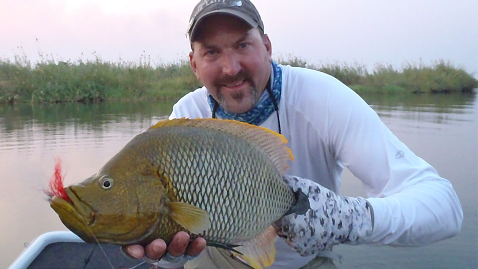 Eric with bream