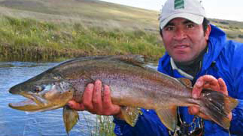Patagonia rainbow fishing