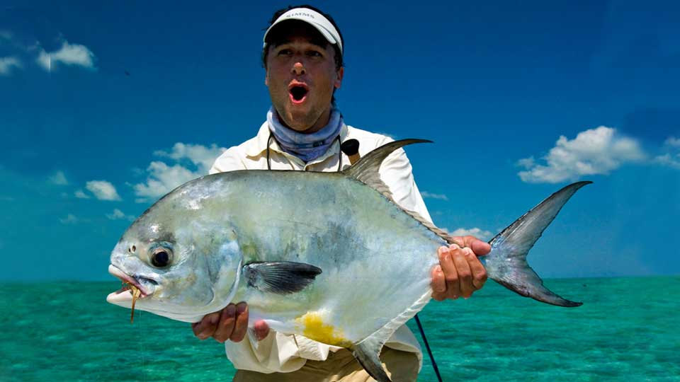 Cayo Largo permit fishing