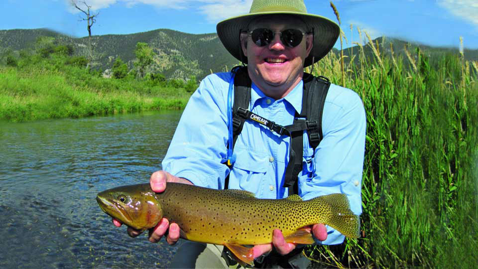 Fly Fishing for Browns