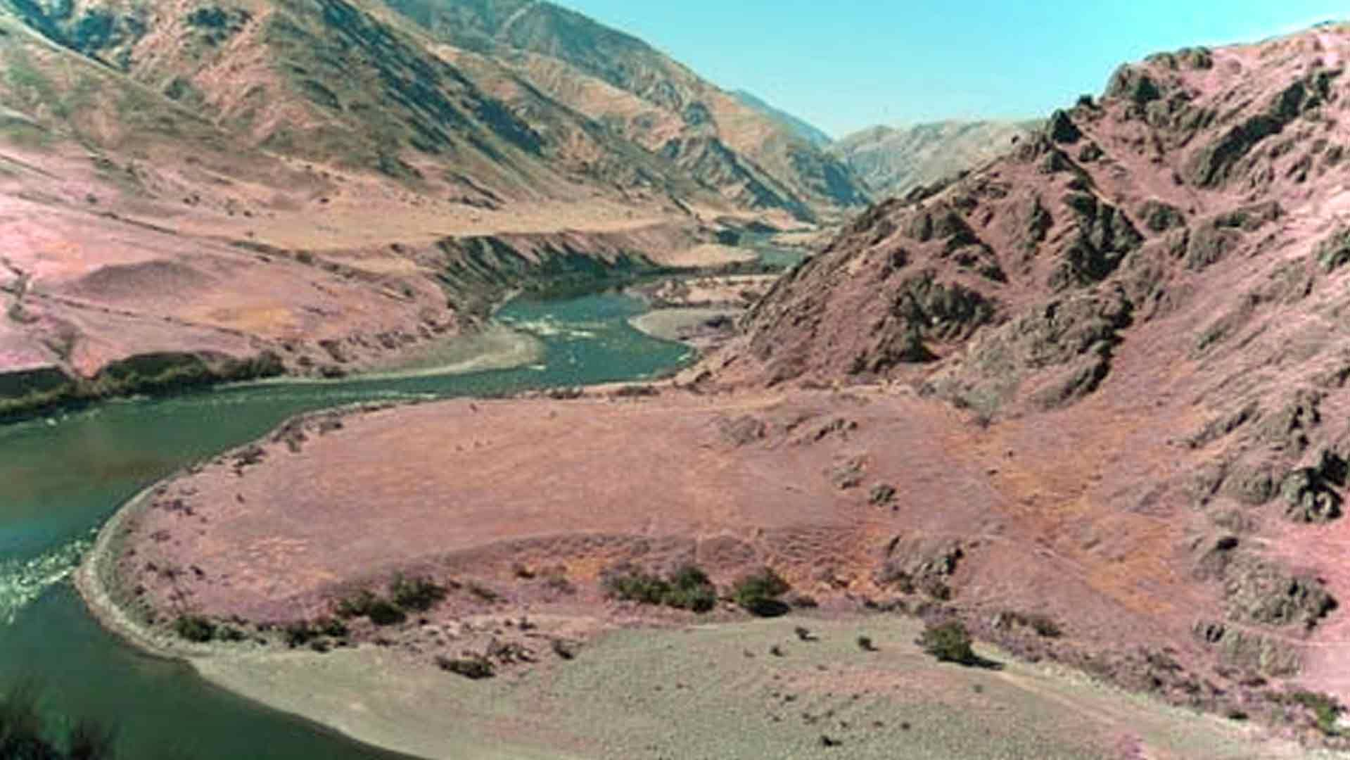 Aerial View of Hells Canyon