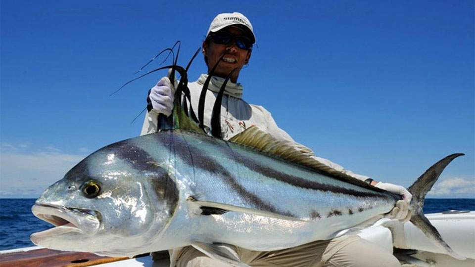 Hooked on Panama Roosterfish