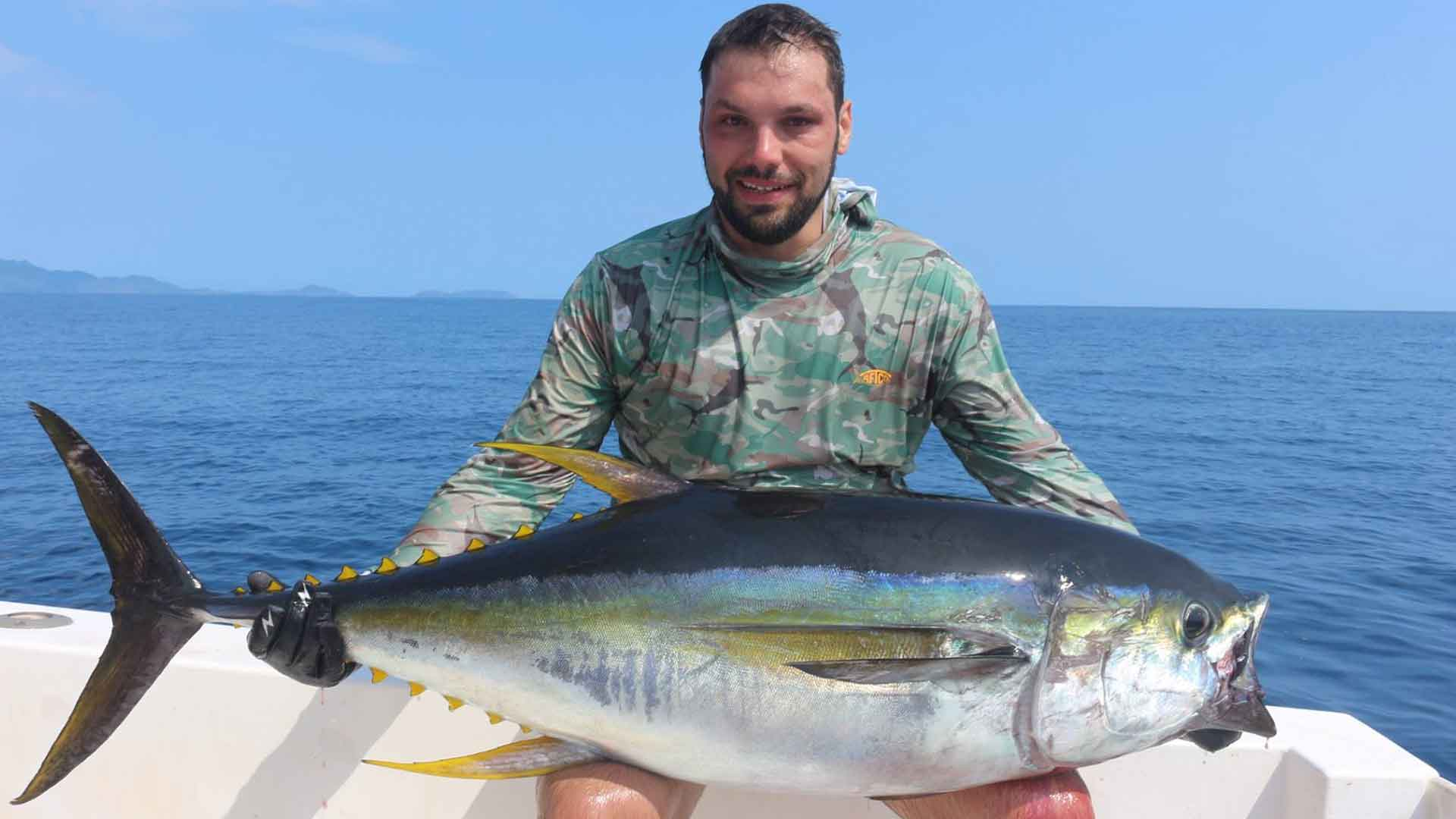 Yellowfin Tuna Fishing