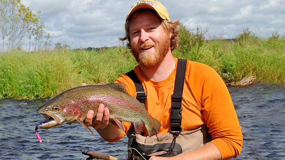 Catch-and-Release Rainbow fishing